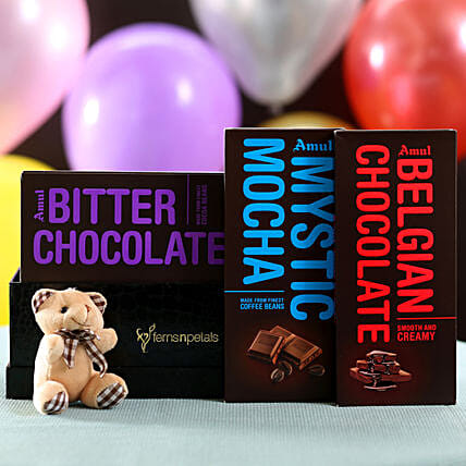 Online Chocolates and Teddy Combo