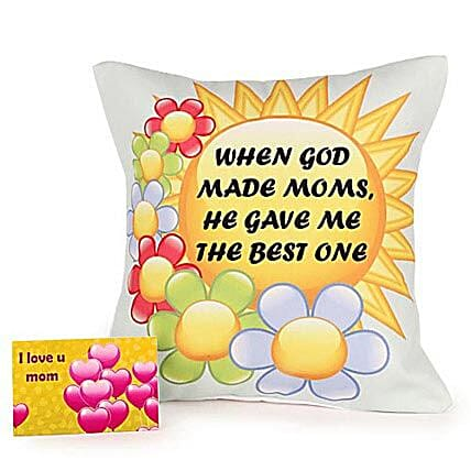 Angelic Mom-12x12 inches bright special cushion for mother