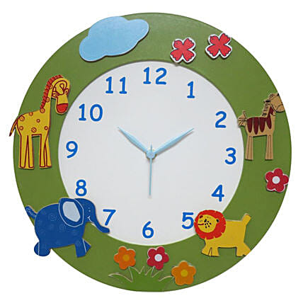 Online Animal Premium Clock