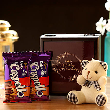 Teddy with Chocolates Online