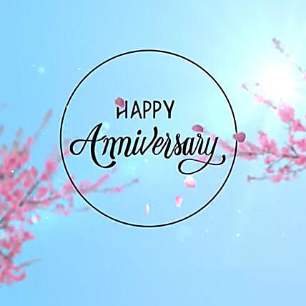 Anniversary Wishes E Greeting Card:Anniversary Digital Gifts