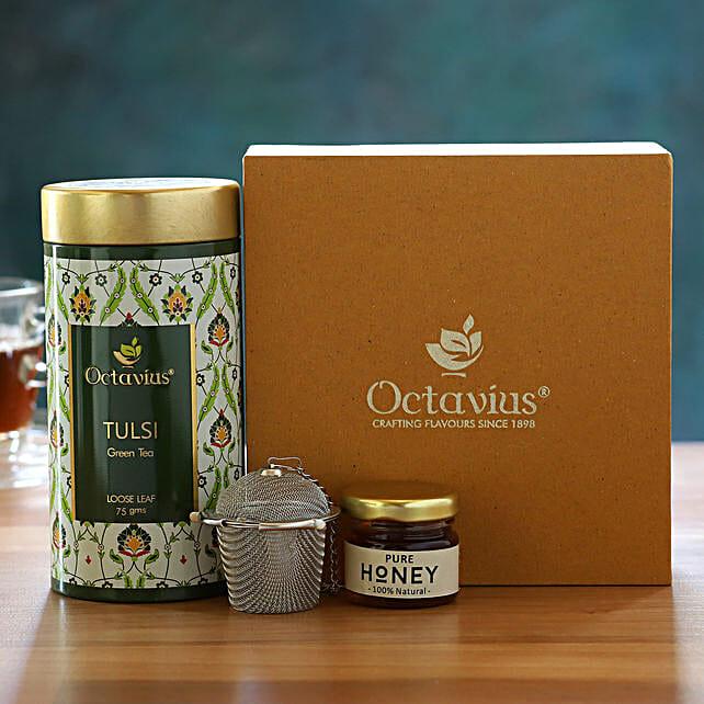 Antioxidant Blast Pure Green Tea  Gift Box:Doctors Day Gift Hampers