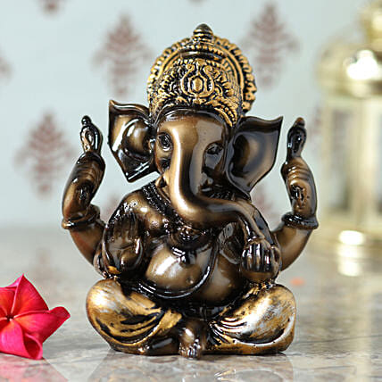 online antique ganesh ji idol:Gifts Delivery