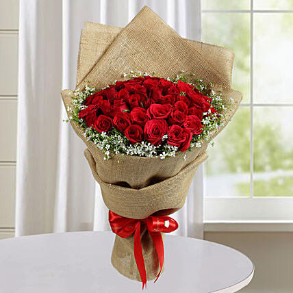 Red Rose Bouquet:Send Premium Roses