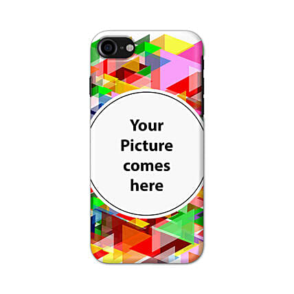 Apple iPhone 8  Multicolor Personalised Phone Cover