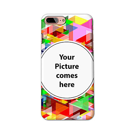 Apple iPhone 8 Plus Multicolor Personalised Phone Cover