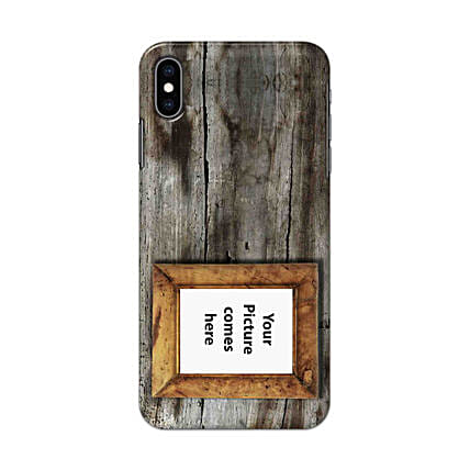 Apple iPhone XS Max Personalised Vintage Phone Case