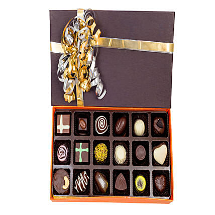 Box of 18  Chocolates