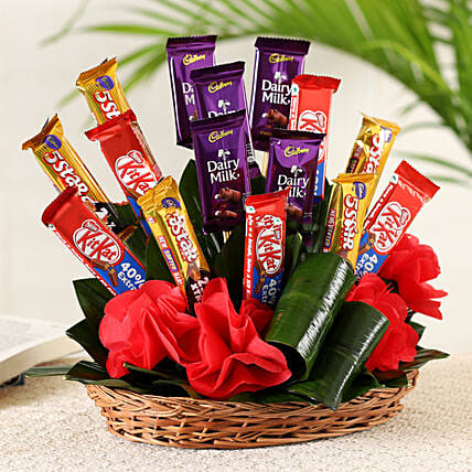 Chocolates Basket Arrangement