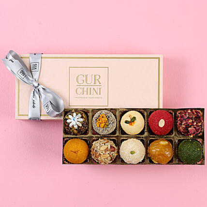 Assorted Mithai In Baby Pink Box:Diwali Sweets to Meerut