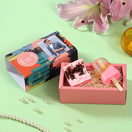 Assorted Soaps Personalised Box:Personalised Soaps