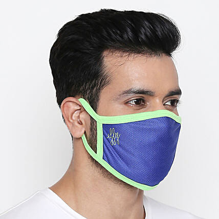 Online Athletic Neon Face Mask