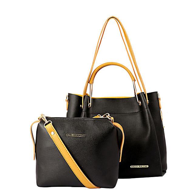 Bagsy Malone Black Tote Bag Combo:Tote Bags