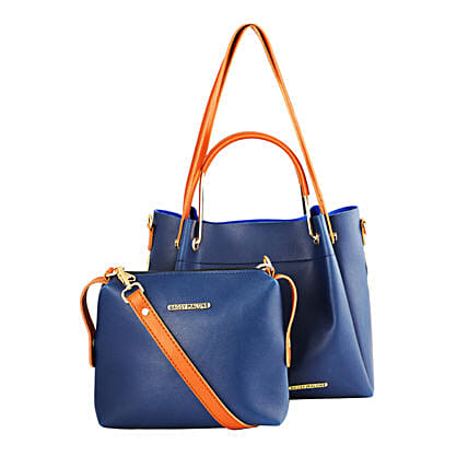 Bagsy Malone Blue Tote Bag Combo