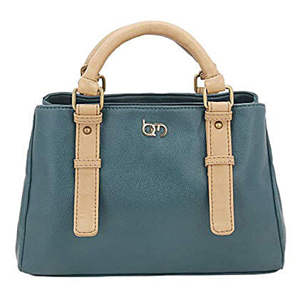 green colour handbag for her