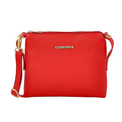 Bagsy Malone Iconic Red Sling:Handbags and Wallets