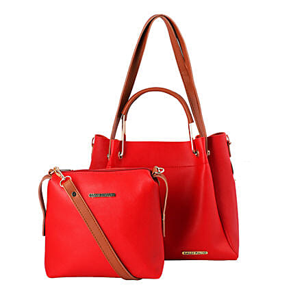 Bagsy Malone Red Tote Bag Combo:Tote Bags Gifts