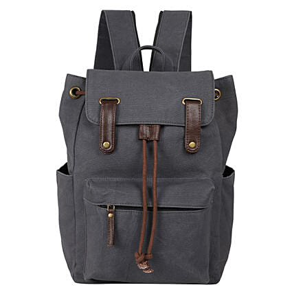 Bagsy Malone Travel Grey Backpack