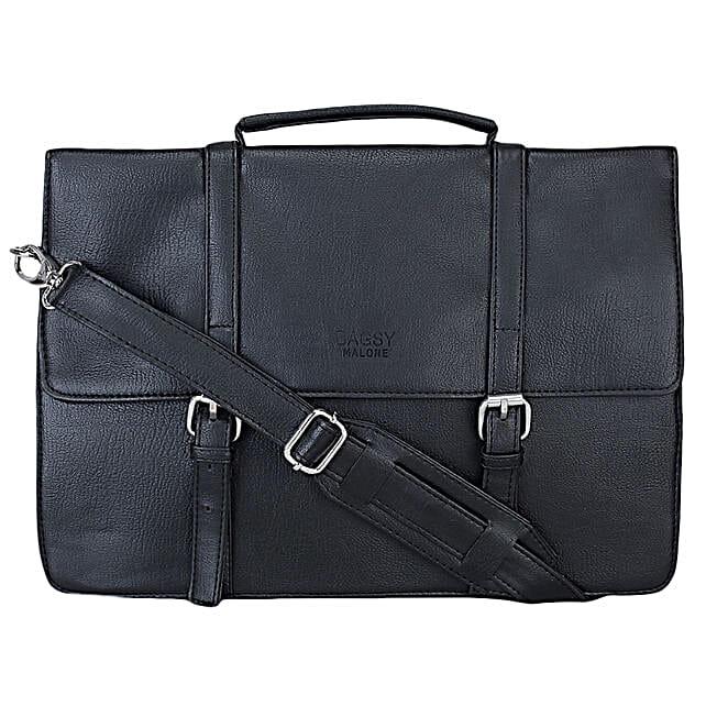 Bagsy Malone Unisex Black Laptop Bag