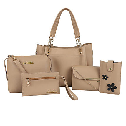 Bagsy Malone Women's Tote Combo of 5