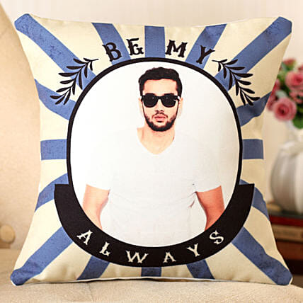 printed cushion for boyfriend