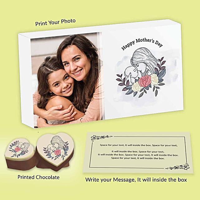 Beautiful Chocolate Gift Box For Mom