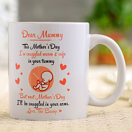 Beautiful Mother s Day White Mug Hand Delivery