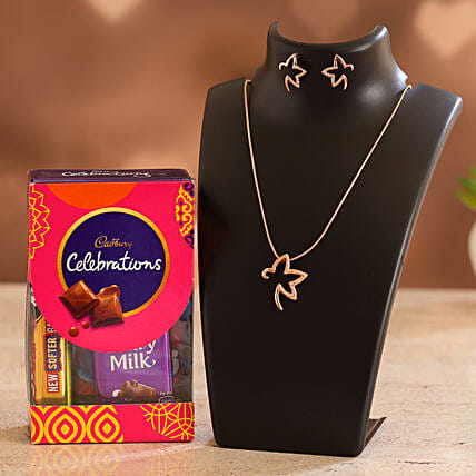 Elegant Jewellery & Chocolate for Valentines:Valentines Day Jewellery