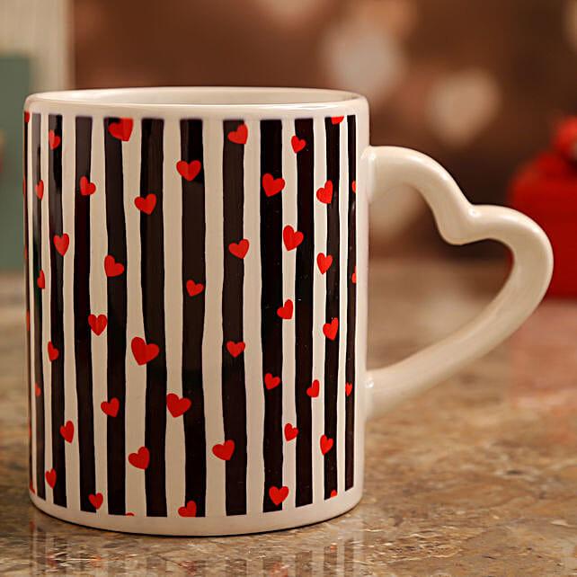 valentines day theme personalised mug online