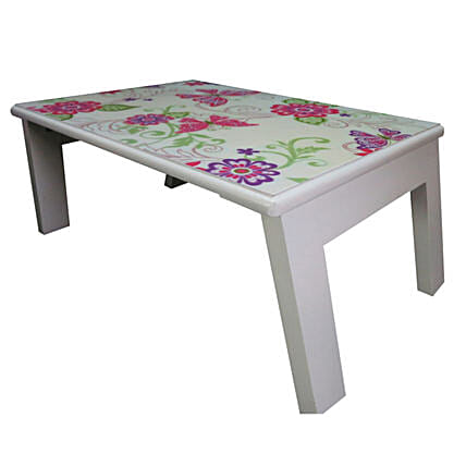Online Bed Table Butterfly Paisly