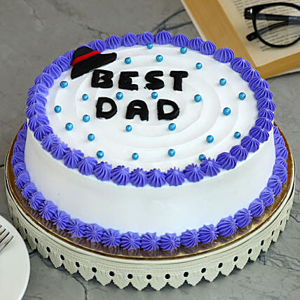 Best Dad Chocolate Cake:Fathers Day Egg-less Cake