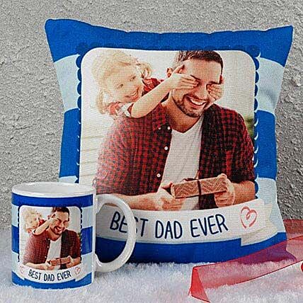 cushion n mug  for dad