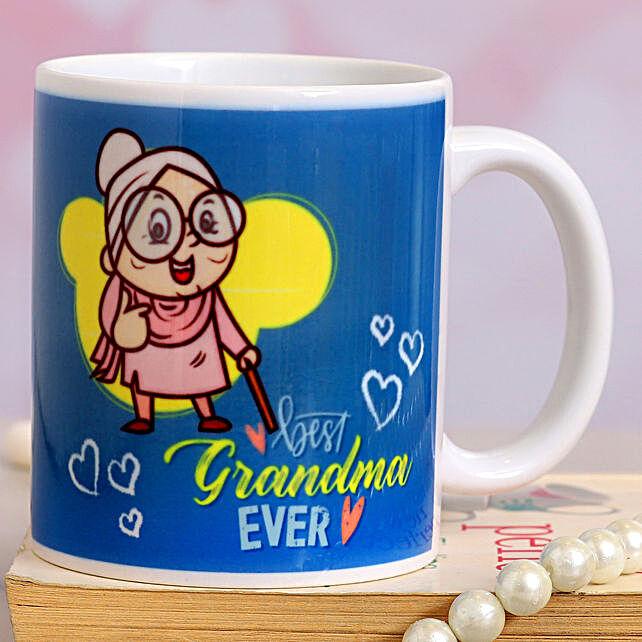 Best Grandma Printed Ceramic Mug:Delhi Mother's Day gifts
