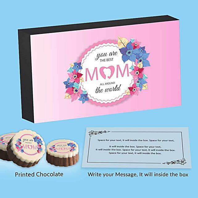 Best Mom Printed Chocolates