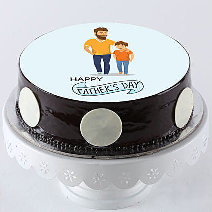 Online Photo Cake For Father