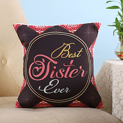 best sister cushion for raksha bandhan
