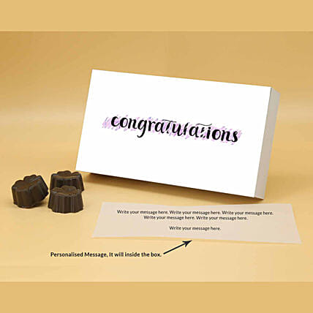 Online Best Wishes Fruit N Nut Personalised Chocolates