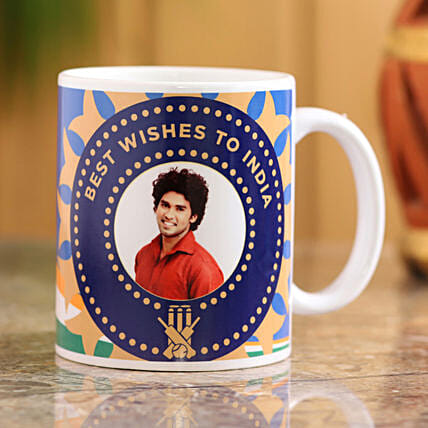 wishes to india personalised mug