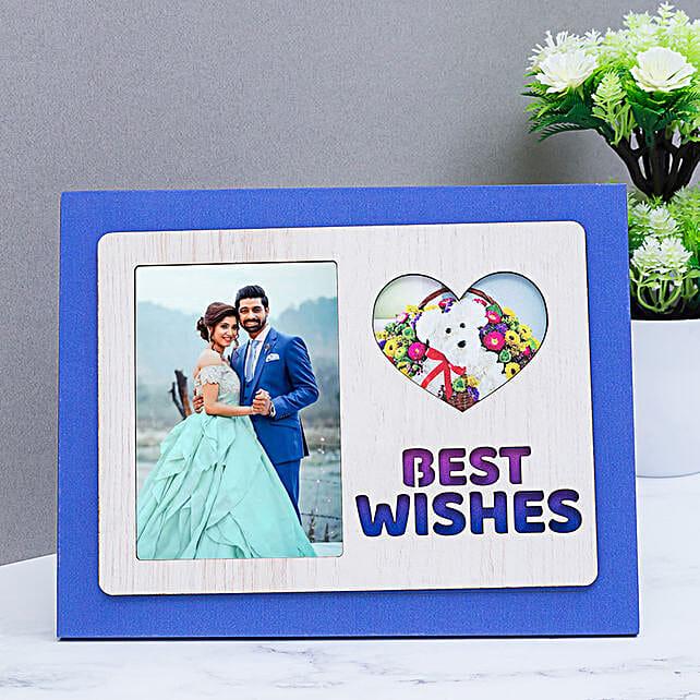 wishes photo frame for birthday:Wedding Personalised Photo Frames
