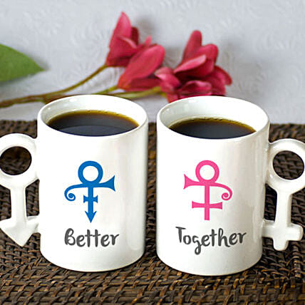 Better Together Personalised Mug Set