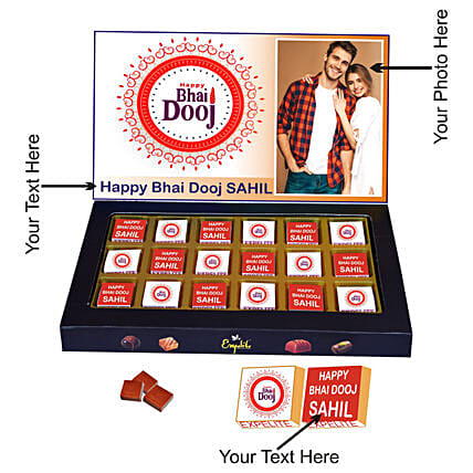 Bhaidooj Personalised Chocolate Box