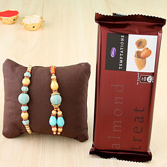 Bhaiya Bhabhi Rakhi & Chocolates