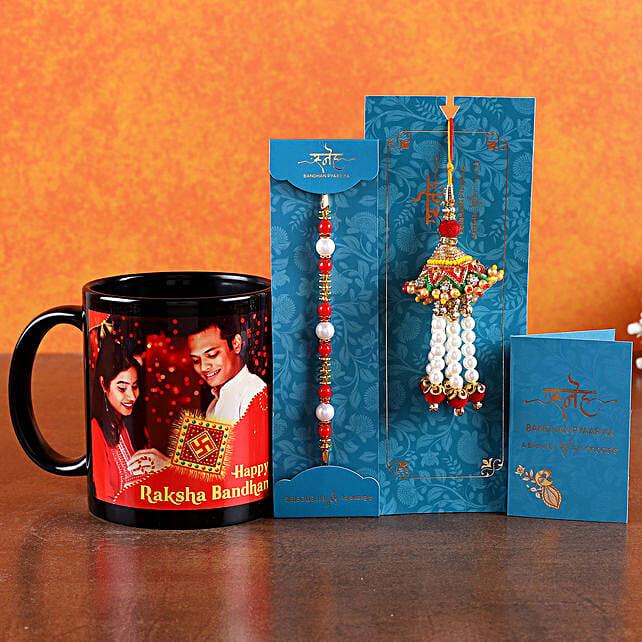 Online Bhaiya Bhabhi Rakhi with Mug