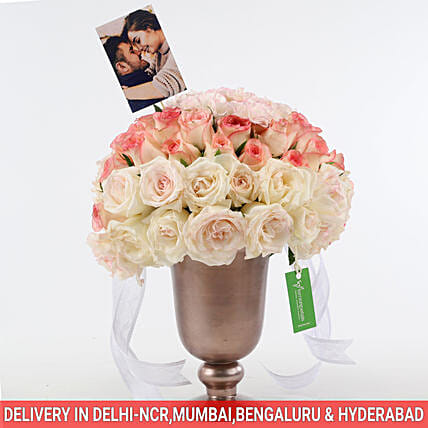 arrangement of carnations n rose online