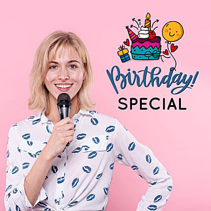 Birthday Songs On Video Call By Female Singer:40Th Birthday Gifts