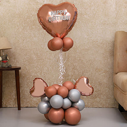Birthday Special Balloon Bouquet:Balloons Decorations