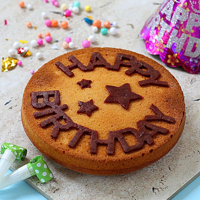 dry cake for birthday online