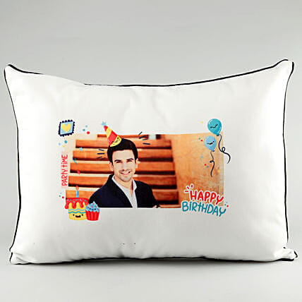 Photo Pillow Cover For Him:Personalised Pillow-covers