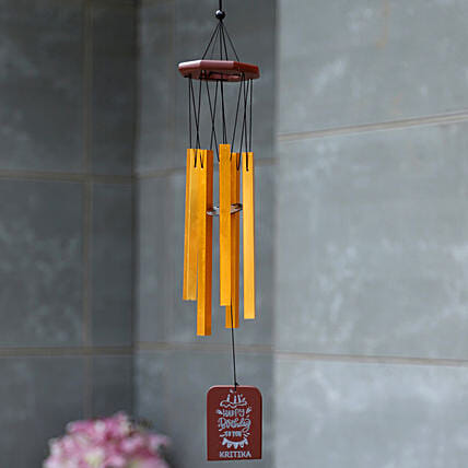 Birthday Special Personalised Wind Chime