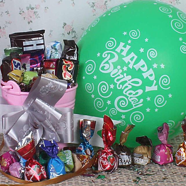 Birthday Surprise Assorted Chocolate Treat